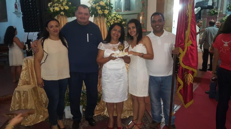 Festa do Divino: Juliana Barros é sorteada a nova Imperatriz do Divino em Oeiras