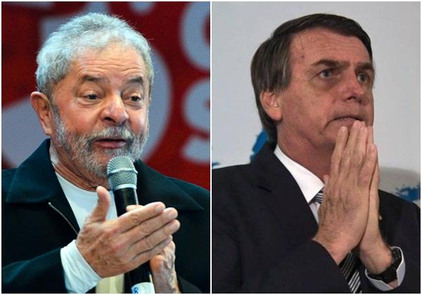 Lula mantém liderança em pesquisa; Bolsonaro fica em 2º