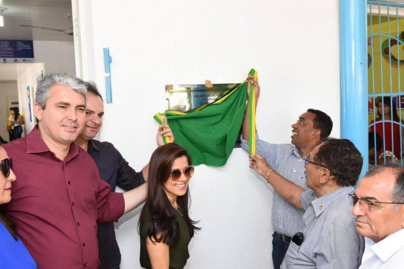 Prefeitura entrega mais uma UBS reformada em Floriano