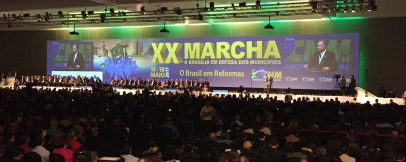 Prefeitos se articulam para a XXI Marcha a Brasília em Defesa dos Municípios