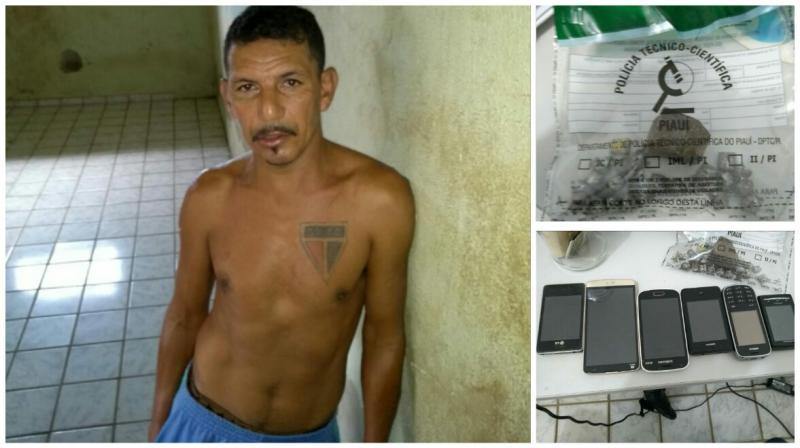 Homem é preso acusado de tráfico de drogas em São João do Arraial