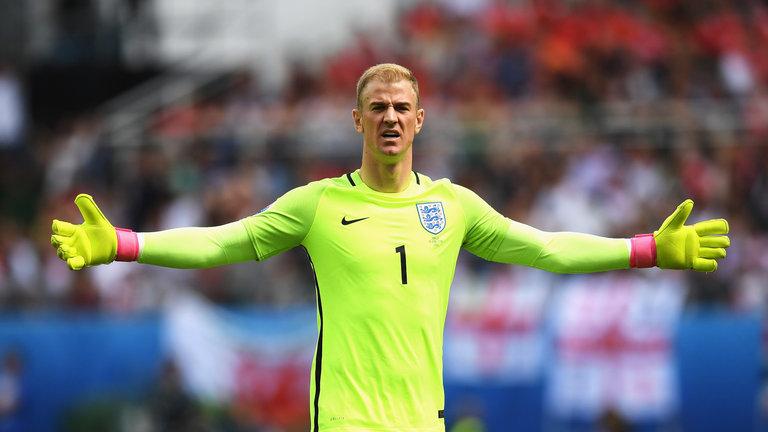 Técnico da Inglaterra descartará Joe Hart em convocação para Copa