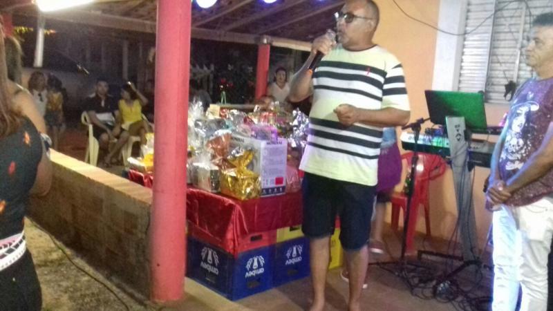 Vereador Edvan Duarte realiza festa das mães em comunidade rural de Lagoa do Piauí