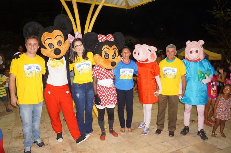Crianças são-pedrense participaram da maior festa pública infantil do município