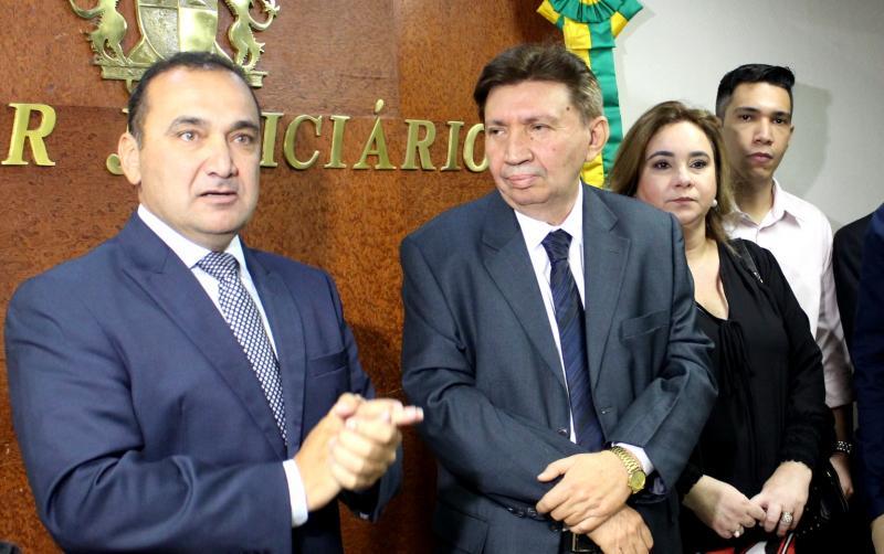 Olímpio Galvão é empossado como desembargador do TJ-PI