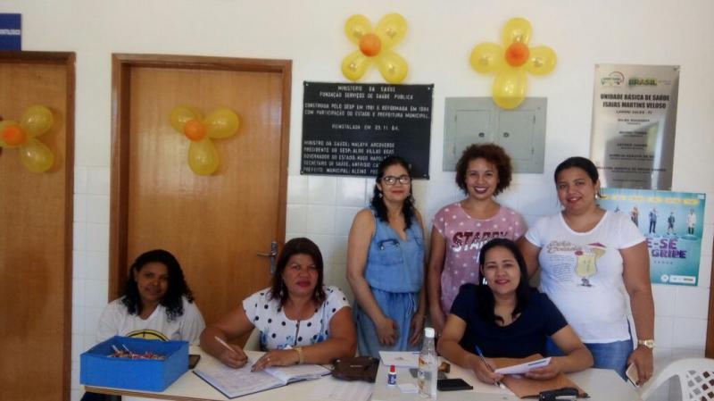 """Secretaria Municipal de Saúde realiza Dia """"D"""" da vacinação contra a gripe em Landri Sales"""
