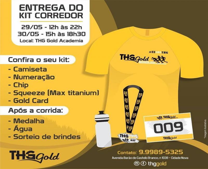 THG Gold Running Day, dia 31 de maio, em Teresina