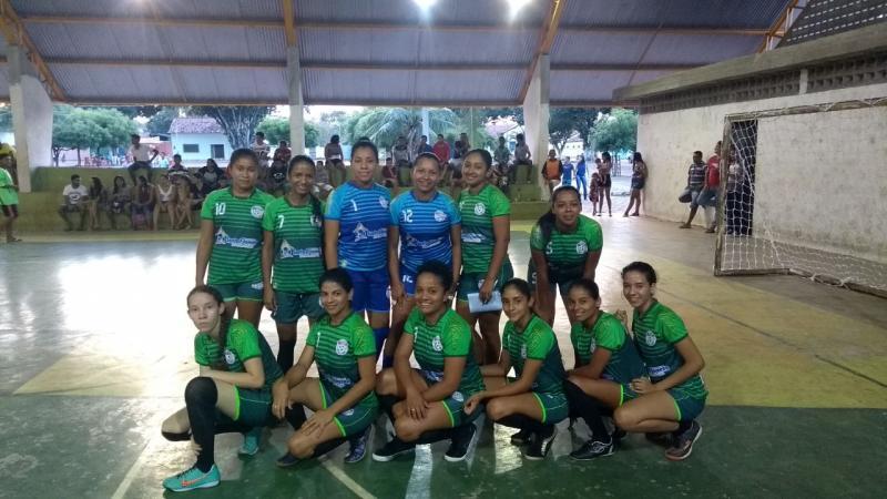 Equipe feminina de futsal de Santa Filomena está na final dos jogos de Alto Parnaíba