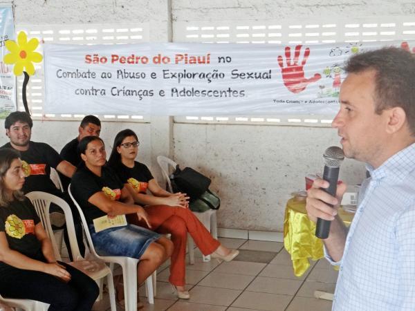 São Pedro do Piauí realiza atividades alusivas ao 18 de Maio
