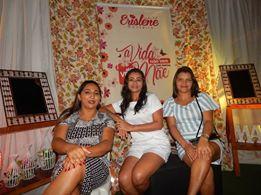Vereadora Erislene Monteiro de Beneditinos no Piaui, realiza festa em homenagem ao dia das mães