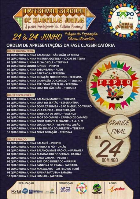 IX Festival Estadual de Quadrilhas Juninas