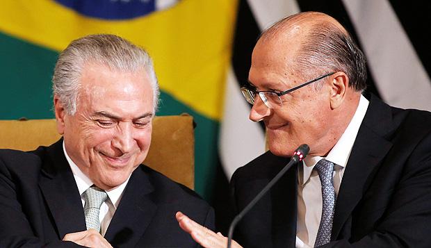 Alckmin pode dar cargo a Temer em troca de apoio e blindá-lo com foro
