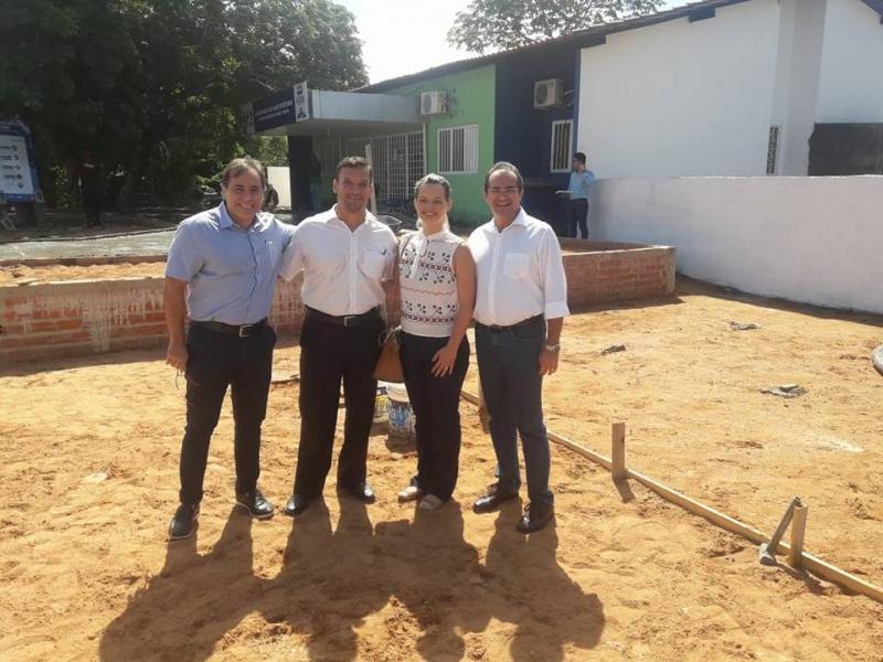 Prefeitura inaugura novo posto de saúde em Nazária