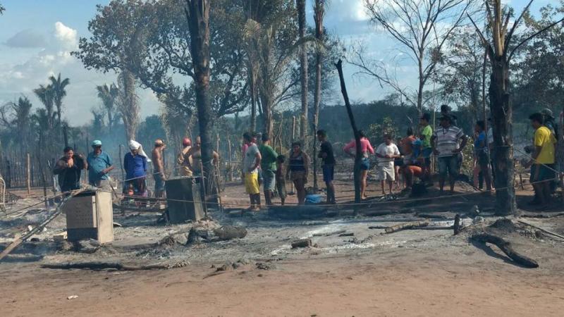 Campanha arrecada doações para famílias vítimas de incêndio na Chapadinha
