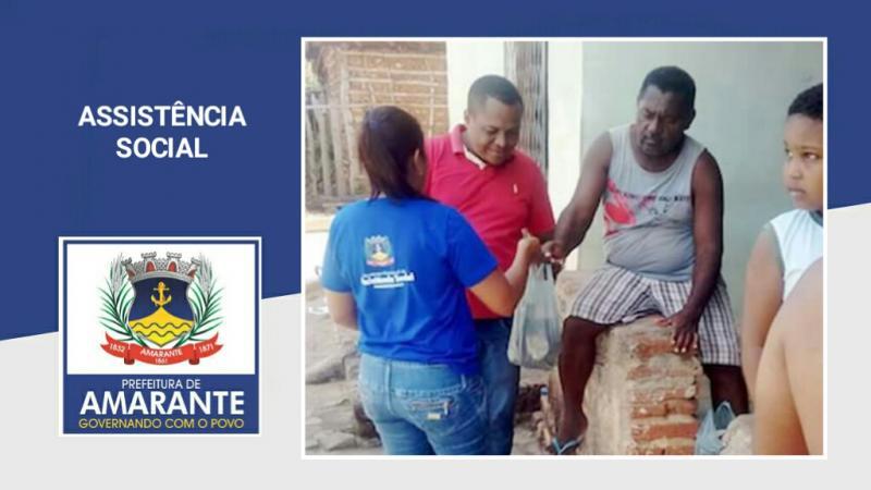 Prefeitura Municipal entrega Macaxeira nos bairros de Amarante
