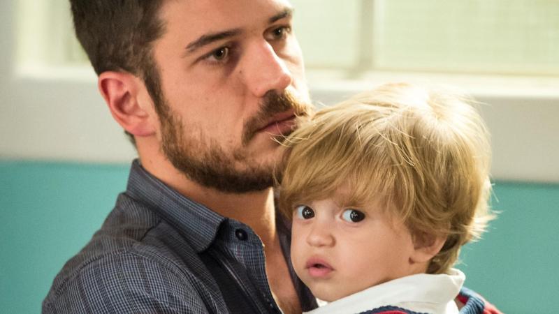 Nesta semana Zeca descobre que é pai de Ruyzinho