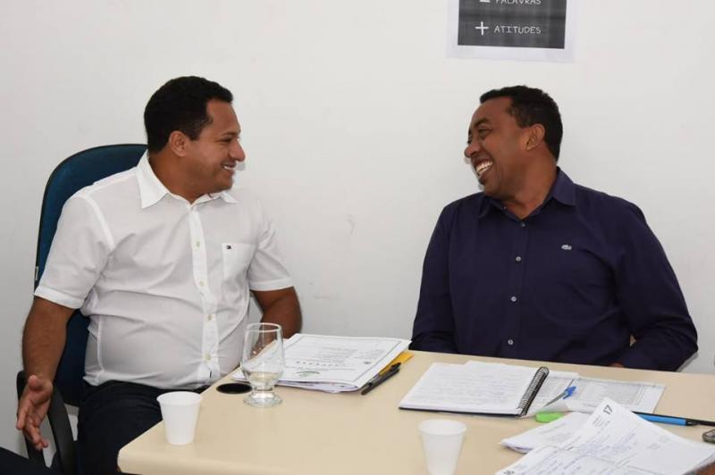 Prefeito Joel se reúne com prefeito de Barão de Grajaú para solucionar iluminação da ponte
