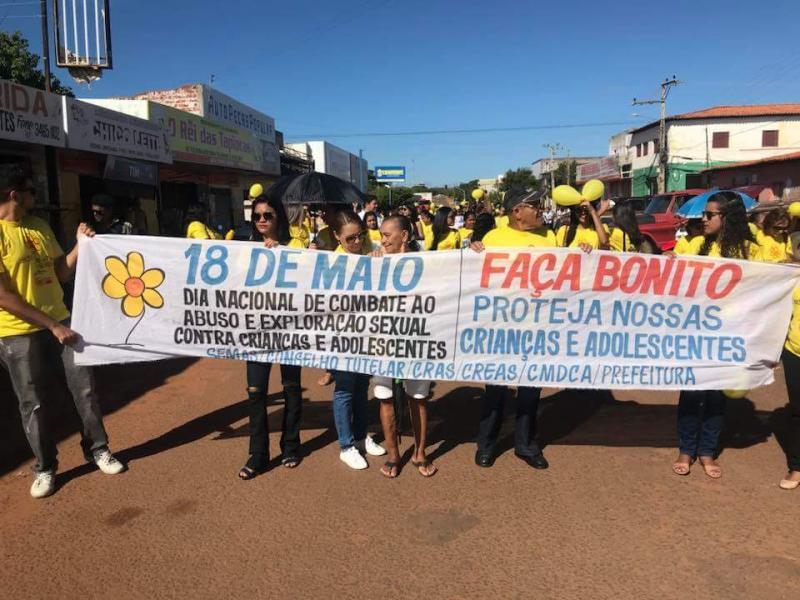 Prefeitura de Valença realiza caminhada do dia 18 de maio