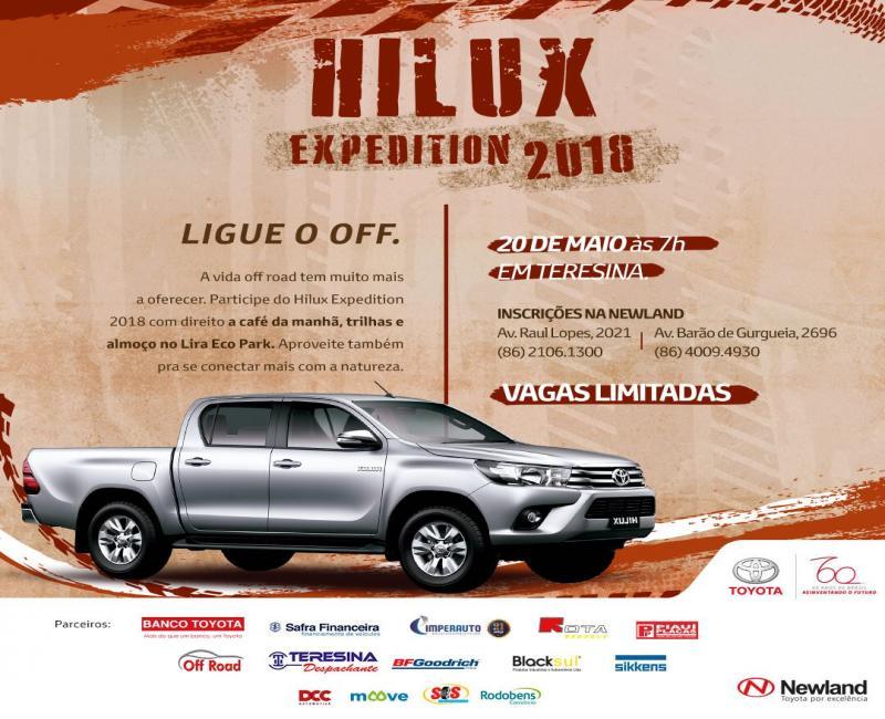 Hilux Expedition 2018 retorna com aventura e novas trilhas fora da estrada