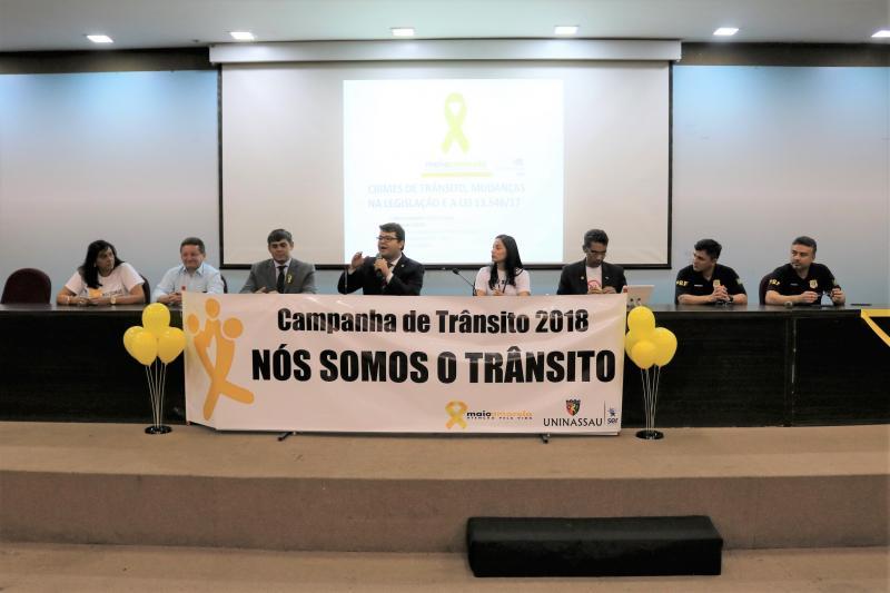 Maio amarelo destaca educação para trânsito seguro no Piauí