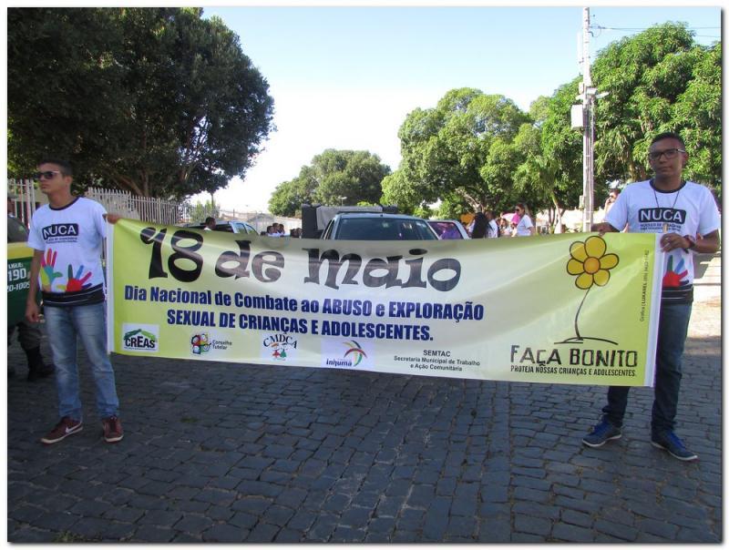 """Inhuma homenageia o 18 de Maio """"FAZENDO BONITO"""""""