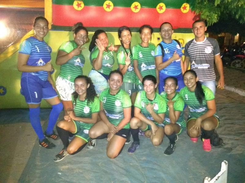 Goleada garante título ao Futsal feminino de Santa Filomena nos jogos de Alto Parnaiba