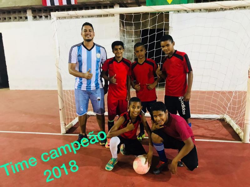 Equipe sub 11 é mais uma campeã de Santa Filomena nos jogos do aniversário de Alto Parnaíba