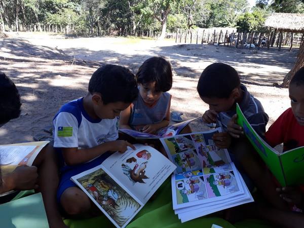 Alunos da Escola Manoel Matias desenvolve projetos de Leitura e Horta Escolar