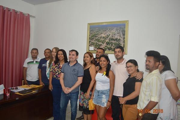 Prefeita Doquinha e assessores solicitam ao Deputado Fábio Novo, apoio para a Semana Cultural
