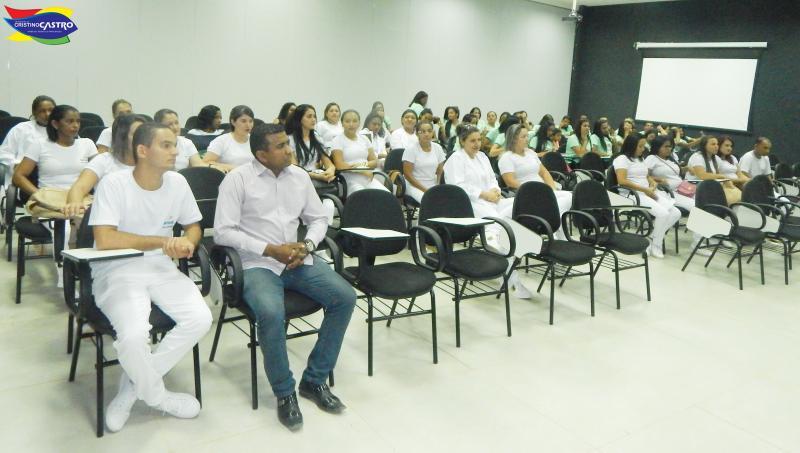 Secretário de Saúde de Cristino Castro Participa de palestra no SENAC