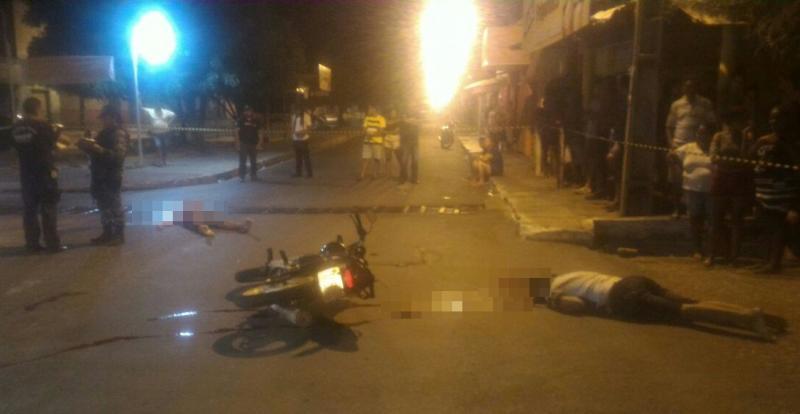 Dois jovens são executados a tiros na zona sul de Teresina
