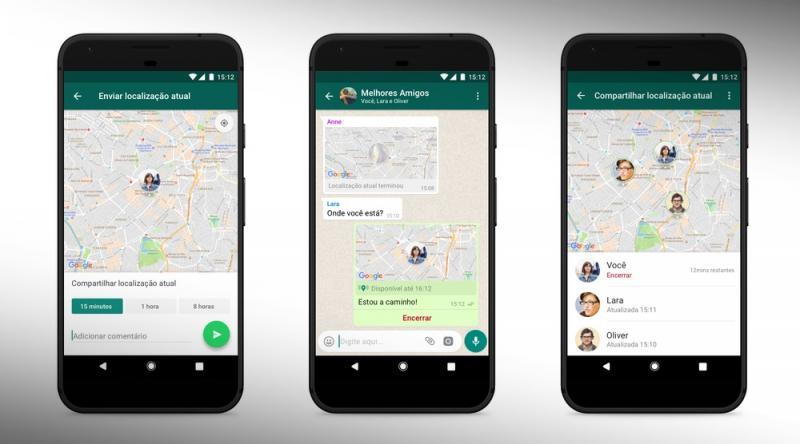 WhatsApp muda e agora diz onde seus amigos estão; confira