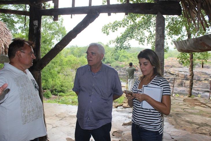 Parque Ecológico Cachoeira do urubu está sendo revitalizado a pedido do deputado Themístocles Filho