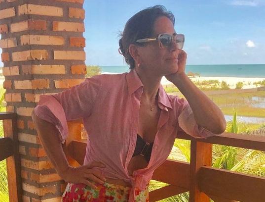 Glória Pires se despede do Piauí: