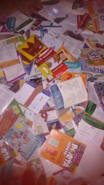 Dezenas de livros são encontrados jogados às margens da rodovia PI-122