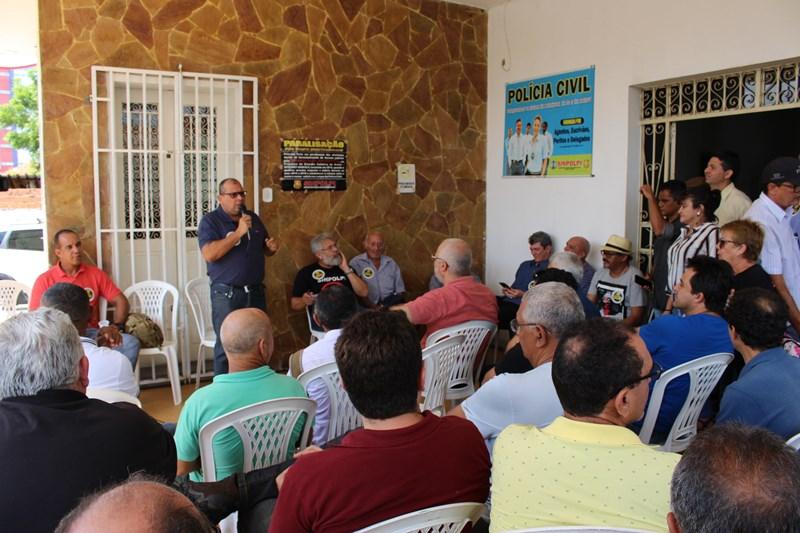 Greve da Polícia Civil do Piauí completa 50 dias