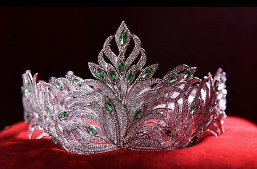 Coroa do Miss Brasil 2018 tem mais de 11 mil brilhantes