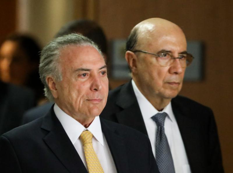 Temer lança Henrique Meirelles como pré-candidato à presidência