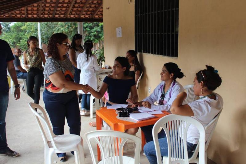 Zona rural de Altos recebe mais de 600 atendimentos do Programa Saúde e Cidadania