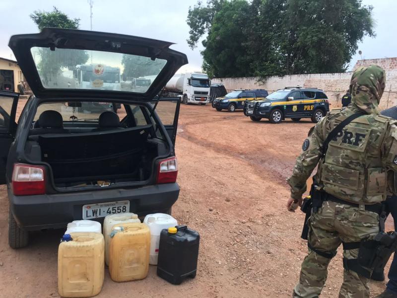 Operação prende quadrilha que adulterava combustíveis no Piauí