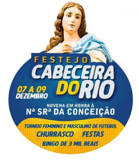 Vem aí Festejo da comunidade Cabeceira do Rio de 07 a 09 de dezembro 2017