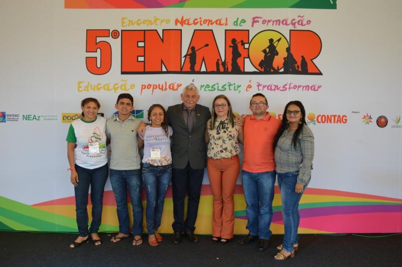 Prefeito do Piauí participa do 5º ENAFOR