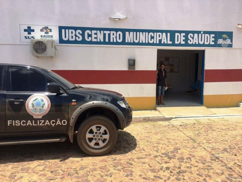 Fiscais encontram irregularidades em consultório de UBS no Piauí