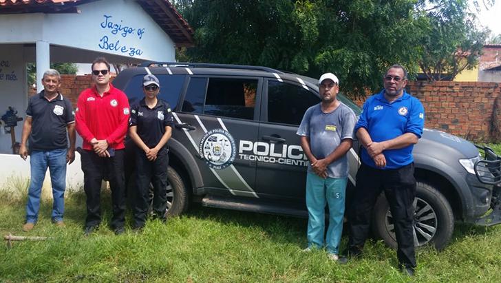 Exumado corpo do madeirense encontrado morto no rio Parnaíba na zona rural  de São Bernardo - MA