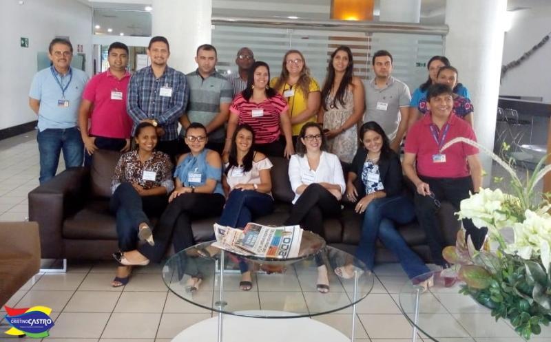 Equipe do Bolsa Família de Cristino Castro participou da capacitação CADUNICO E SIBEC