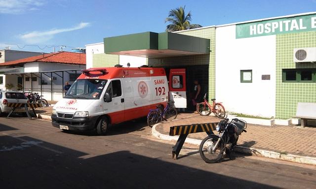 Garoto vítima de choque elétrico é resgatado pelo SAMU em Esperantina