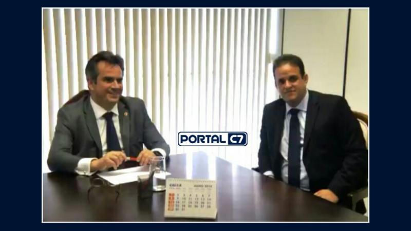 Prefeito Diego Teixeira é recebido pelo Senador Ciro Nogueira para tratar de recursos para Amarante