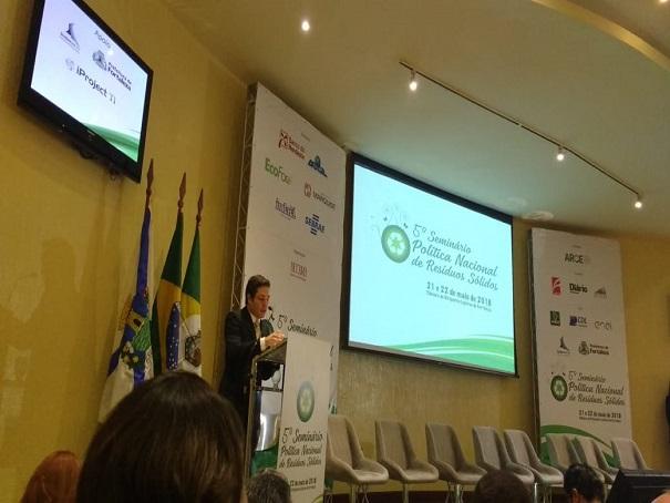 Prefeitura de Oeiras participa do 5° Seminário de Política Nacional de Resíduos Sólidos