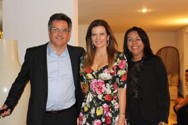 Prefeita Doquinha participou de confraternização na residência do Senador Ciro Nogueira