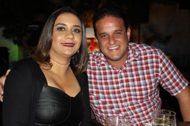 Prefeito Diego Teixeira participa de jantar na casa de Ciro Nogueira